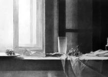 Untitled charcoal on paper 100 x 50 cm