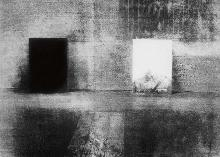 Untitled 1985, b/w lithography, 46 x 58 cm